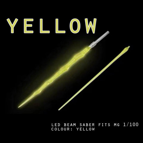 LED Beam Saber fits MG 1/100 (Yellow)