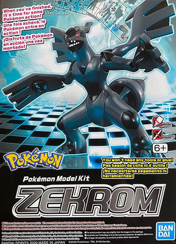 Pokemon Plamo Model Kit: Zekrom