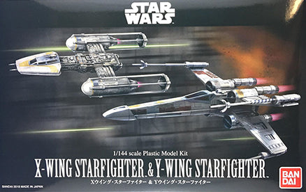 1/144 X-WING STARFIGHTER & Y-WING STARFIGHTER
