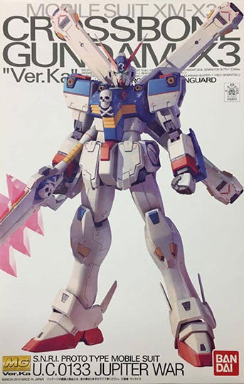 MG - Crossbone Gundam X3 Ver. Ka [P-Bandai Exclusive]