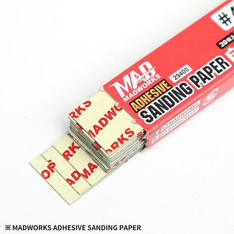 Madworks 29400 Adhesive Sanding Paper #400 (20pc)