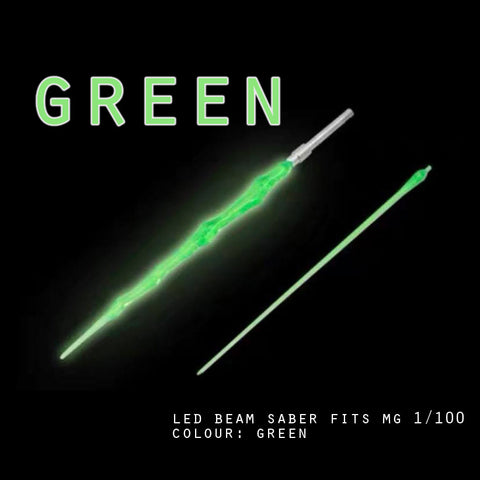 LED Beam Saber fits MG 1/100 (Green)