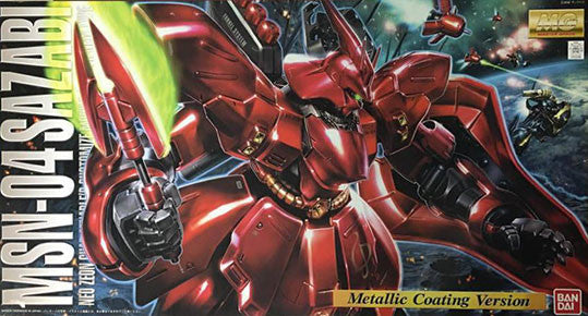 MG - MSN-04 Sazabi Metallic Coating Version