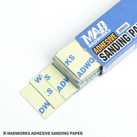 Madworks 29600 Adhesive Sanding Paper #600 (20pc)