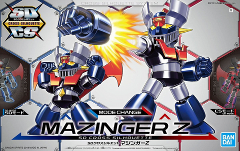 SD - Cross Silhouette Mazinger Z