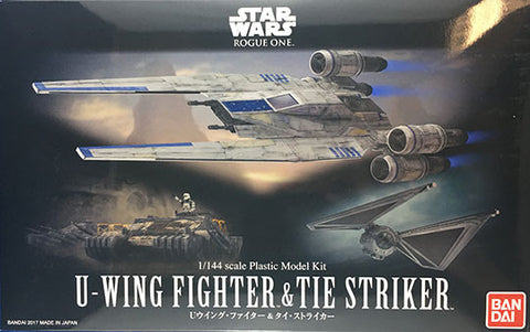 1/144 U-Wing Fighter & TIE Striker