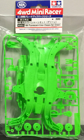95052 MA Fluorescent Color Chassis Set (Green)