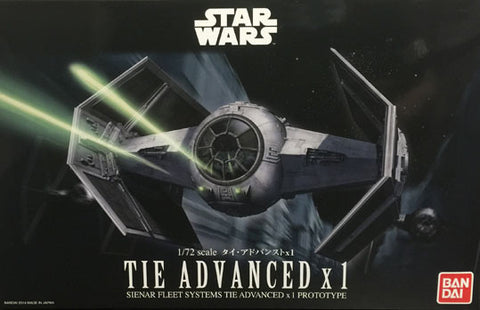 1/72 Star Wars TIE Advanced x1
