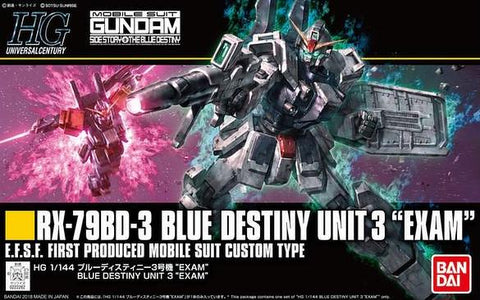 HG - Blue Destiny Unit 3 EXAM