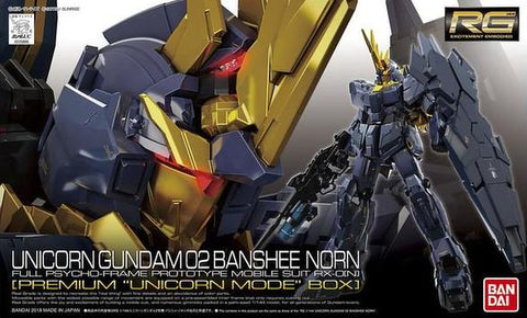 "RG - Unicorn Gundam 02 Banshee Norn (First Run Limited ""Unicorn Mode"" Box)"