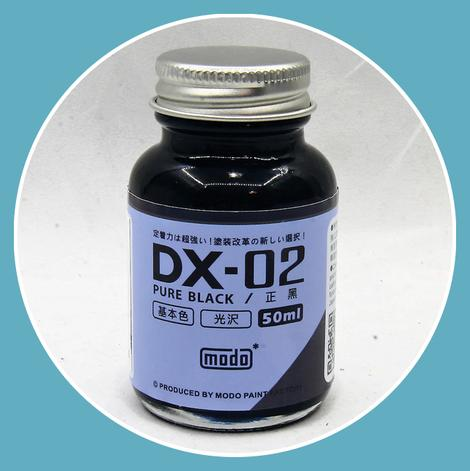 DX-02 PURE BLACK (50ml)