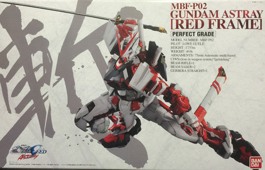 PG - Gundam Astray Red Frame (No Bonus Parts)