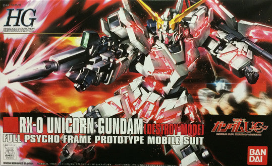 HG - Unicorn Gundam (Destory)