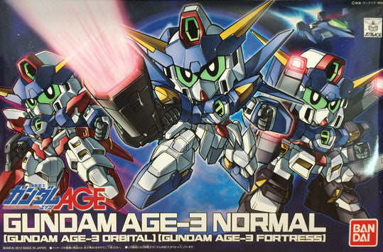 SD - Gundam AGE-3(Normal/Orbital/Fortress)