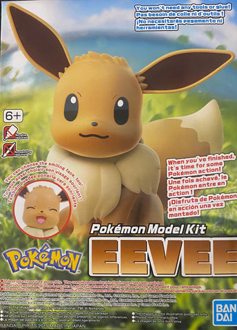 Pokemon Plamo Model Kit: Eevee