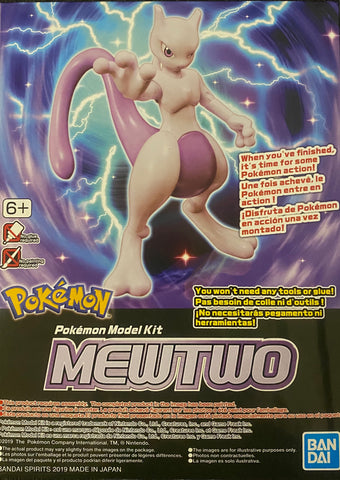 Pokemon Plamo Model Kit: Mewtwo