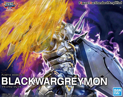 Figure-Rise Standard BLACKWARGREYMON (AMPLIFIED)