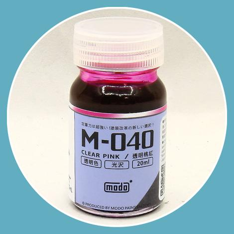 M-040 CLEAR PINK (20ml)