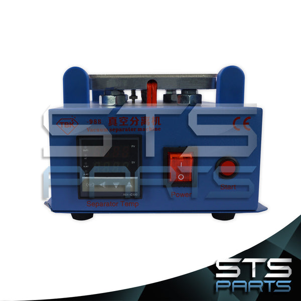 7 inch LCD Separator Machine with Built in Vacuum Pump (Blue)