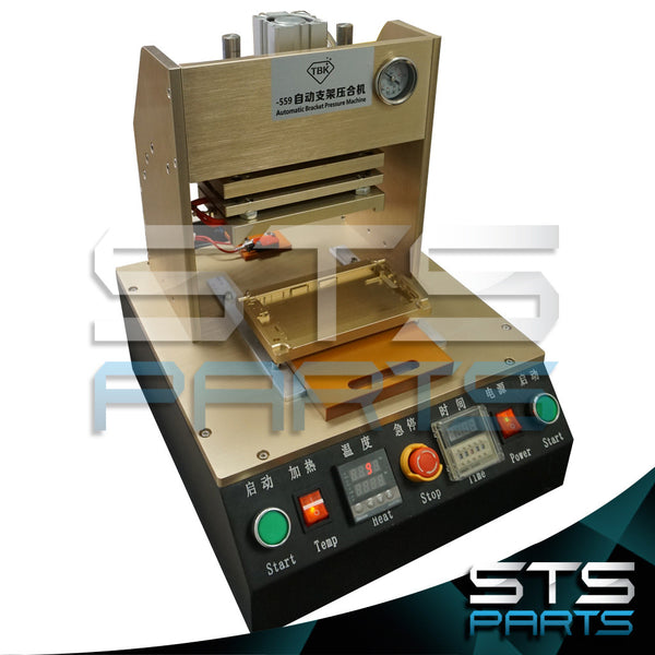 LCD Framing Machine with Built-In Compressor