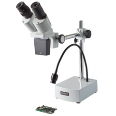 Omano OM-B10-L 10X/20X LED Integrated Boom Stereo Microscope for PCB Repair