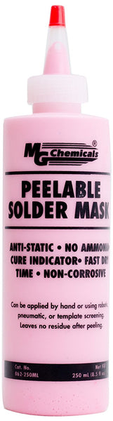 Peelable Solder Mask