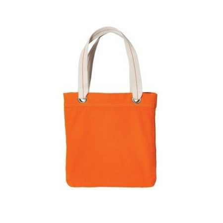 Allie - Cotton Canvas Tote Bag