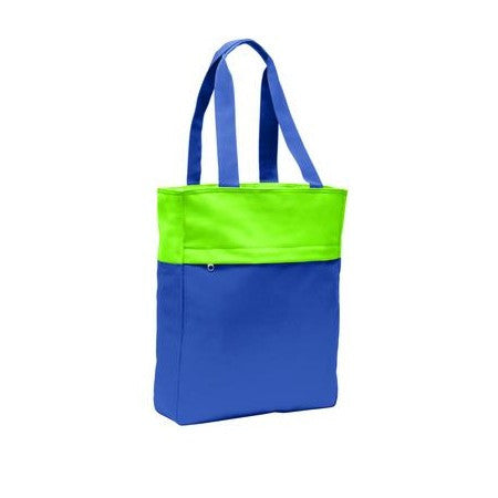 Port - Colorblock Tote Bag