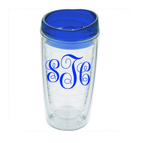 Tumbler - 16oz Clear Acrylic Double Wall