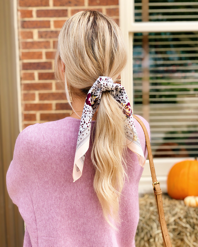 Now Trending: Hair Scarves