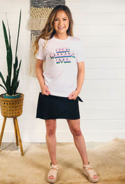 Friday + Saturday: Best Weekend Ever T-Shirt, best weekend shortsleeved white t-shirt slogan