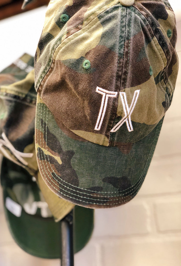 Charlie Southern Retro Texas Hat in Faded Camo