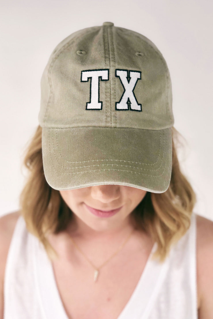 Charlie Southern Texas Outline Hat in Tan