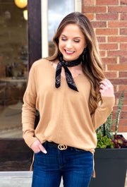 Dreamers Must Have Sweater in Camel