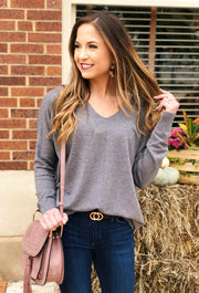 Dreamers Must Have Sweater in Charcoal