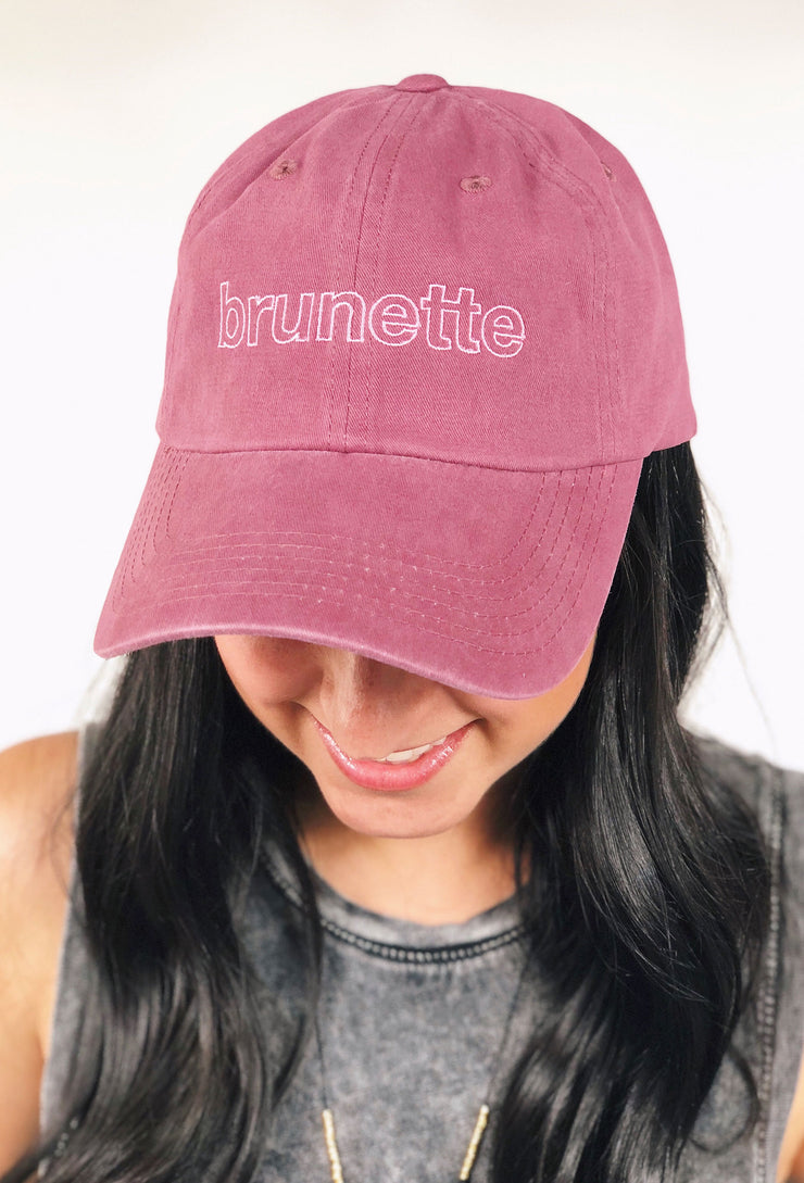 Friday + Saturday Brunette Hat