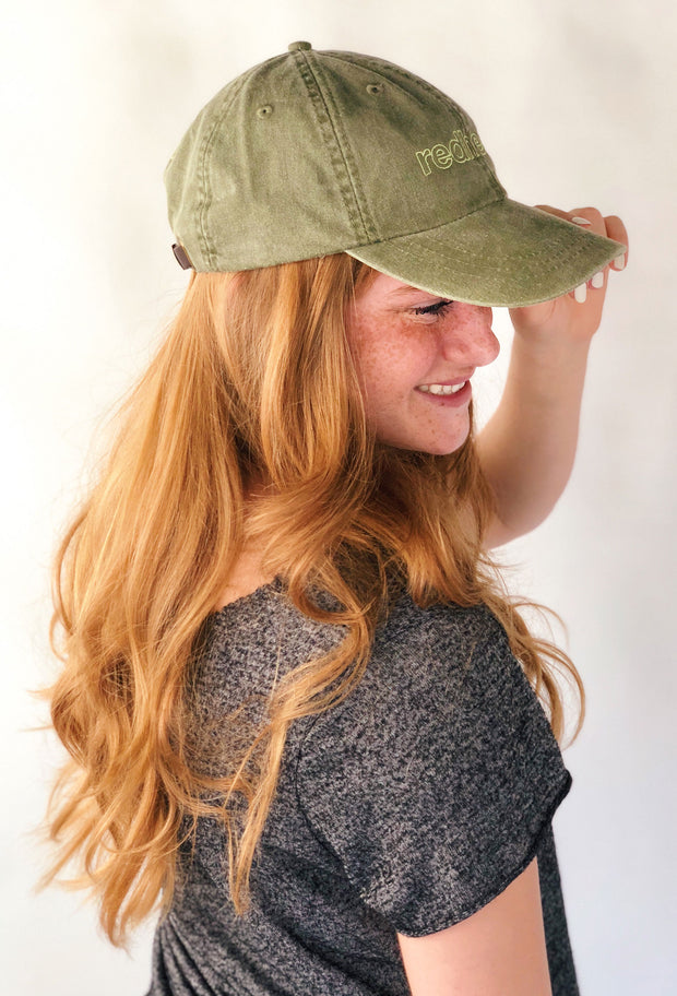 Friday + Saturday Redhead Hat