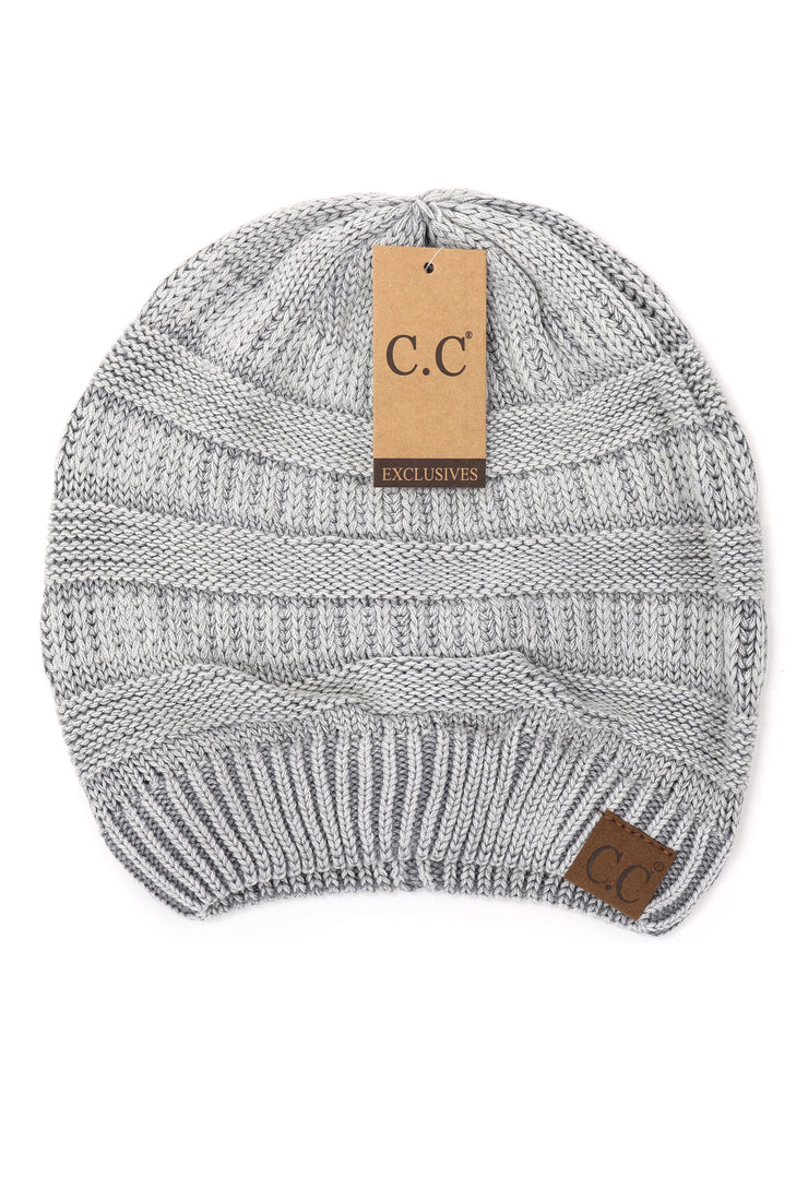 C.C. Beanie Stonewashed Classic Beanie , acid washed worn slouchy beanies made of cotton
