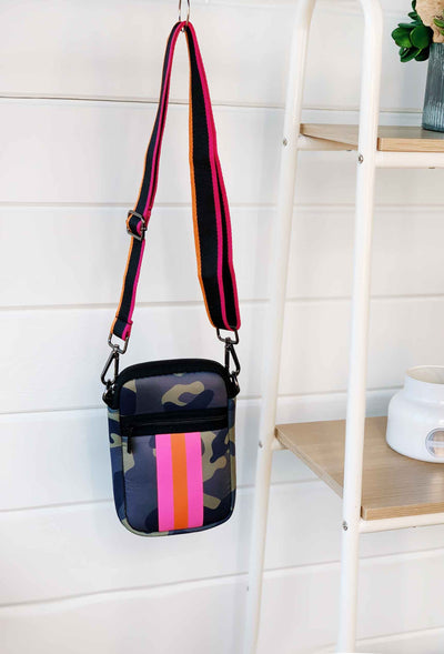 The Camo Emma Neoprene Cell Phone Cross Body