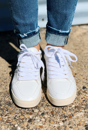 White Raven Off White Sneakers, off white tan sneakers with woven detail