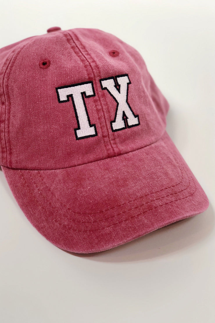 Charlie Southern Hats, Baseball Caps Charlie Southern Texas Outline Hat - Red
