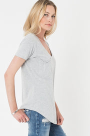 Z-Supply pocket tee, t-shirt ZSupply Pocket Tee - Heather Gray