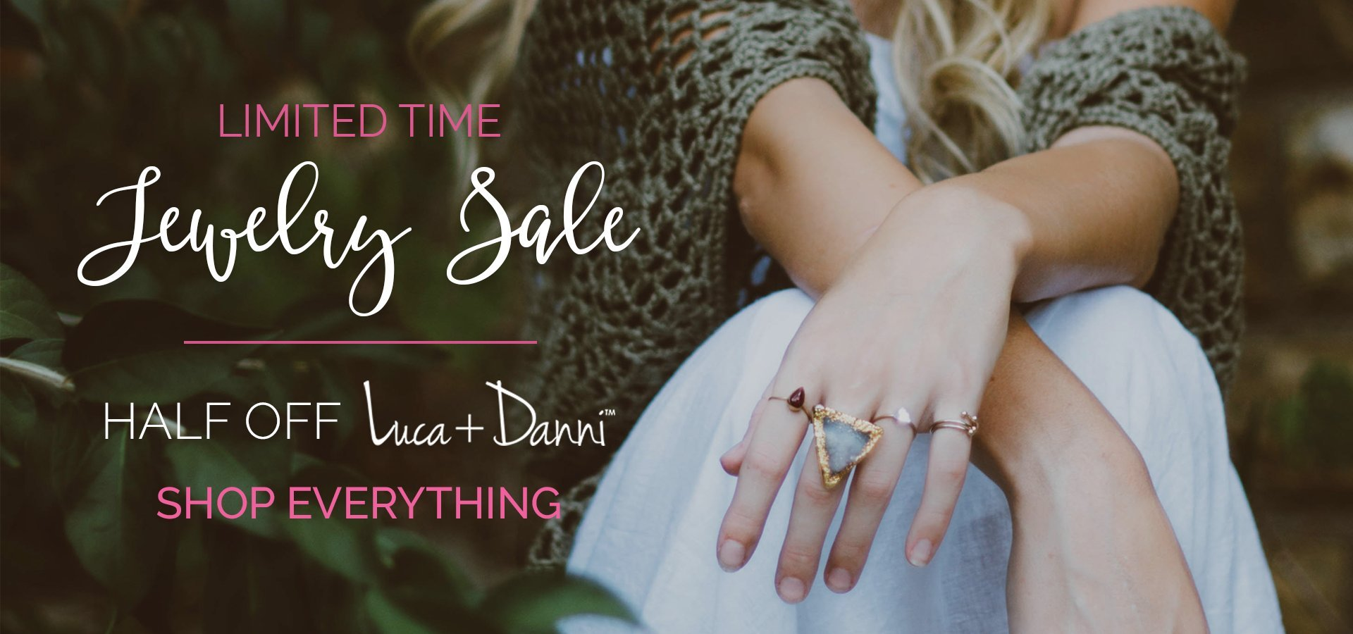 jewelry sale, luca and danni sale
