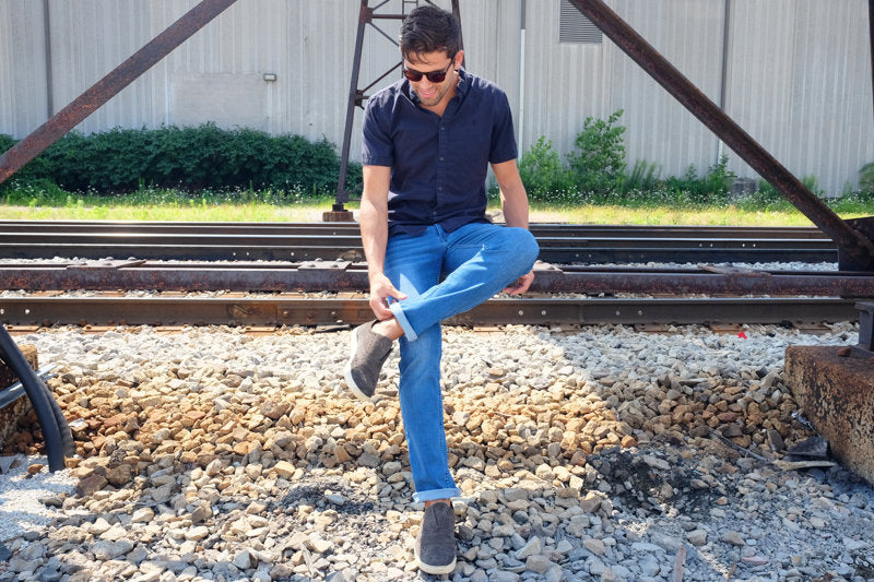 How to Wear Jeans in Summer by Mugsy Jeans