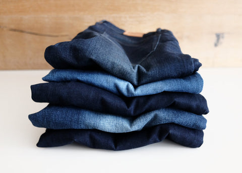 How To Dry Your Blue Jeans