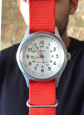 Timex Army Watch Mugsy Jeans Band