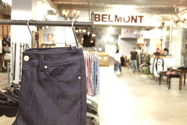 Belmont Army Chicago Mugsy Jeans Hanging