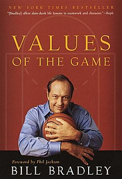 Bill Bradley values of the game book cover