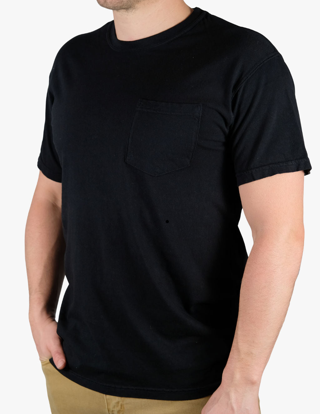 WASHED BLACK TEE
