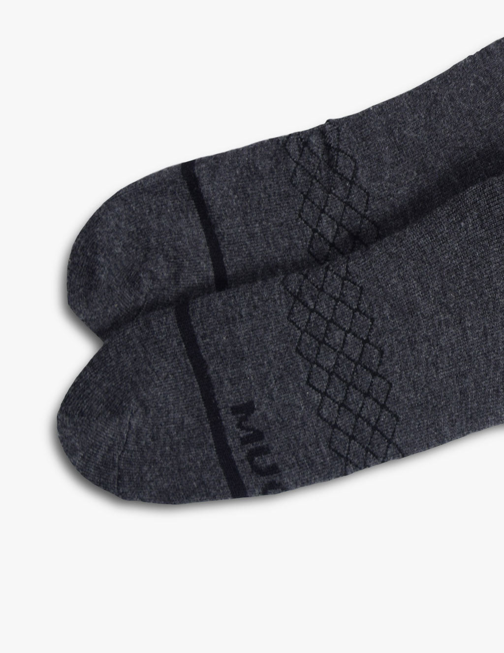 GRAY MERINO SOCKS